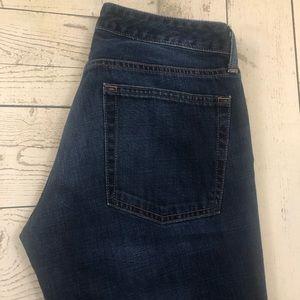 Bonobos W29 x L32 Blue Straight Fit Denim Jeans
